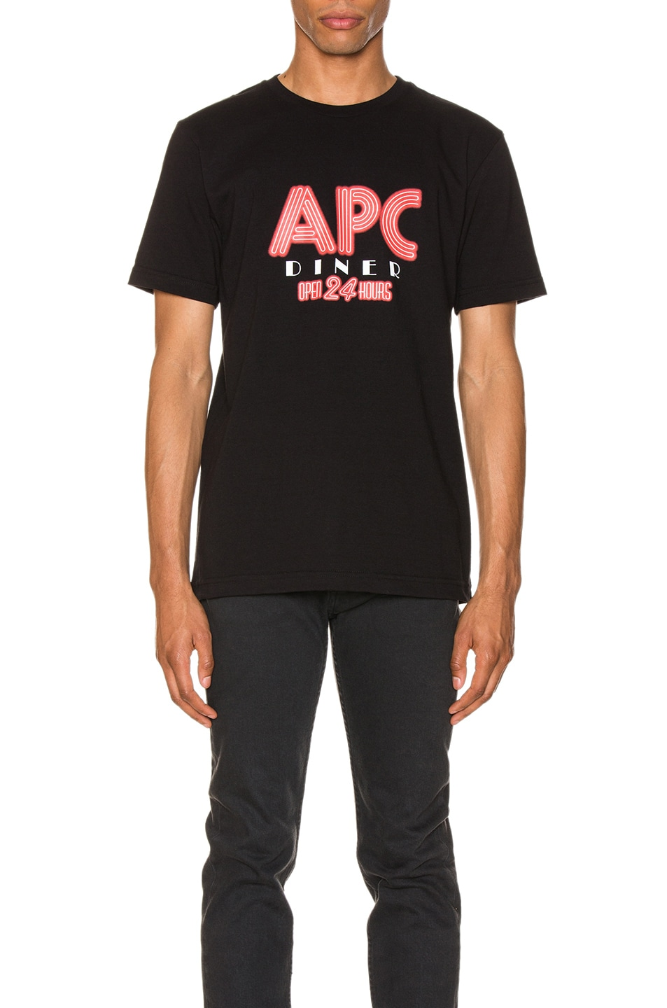 Image 1 of A.P.C. Taylor Tee in Black