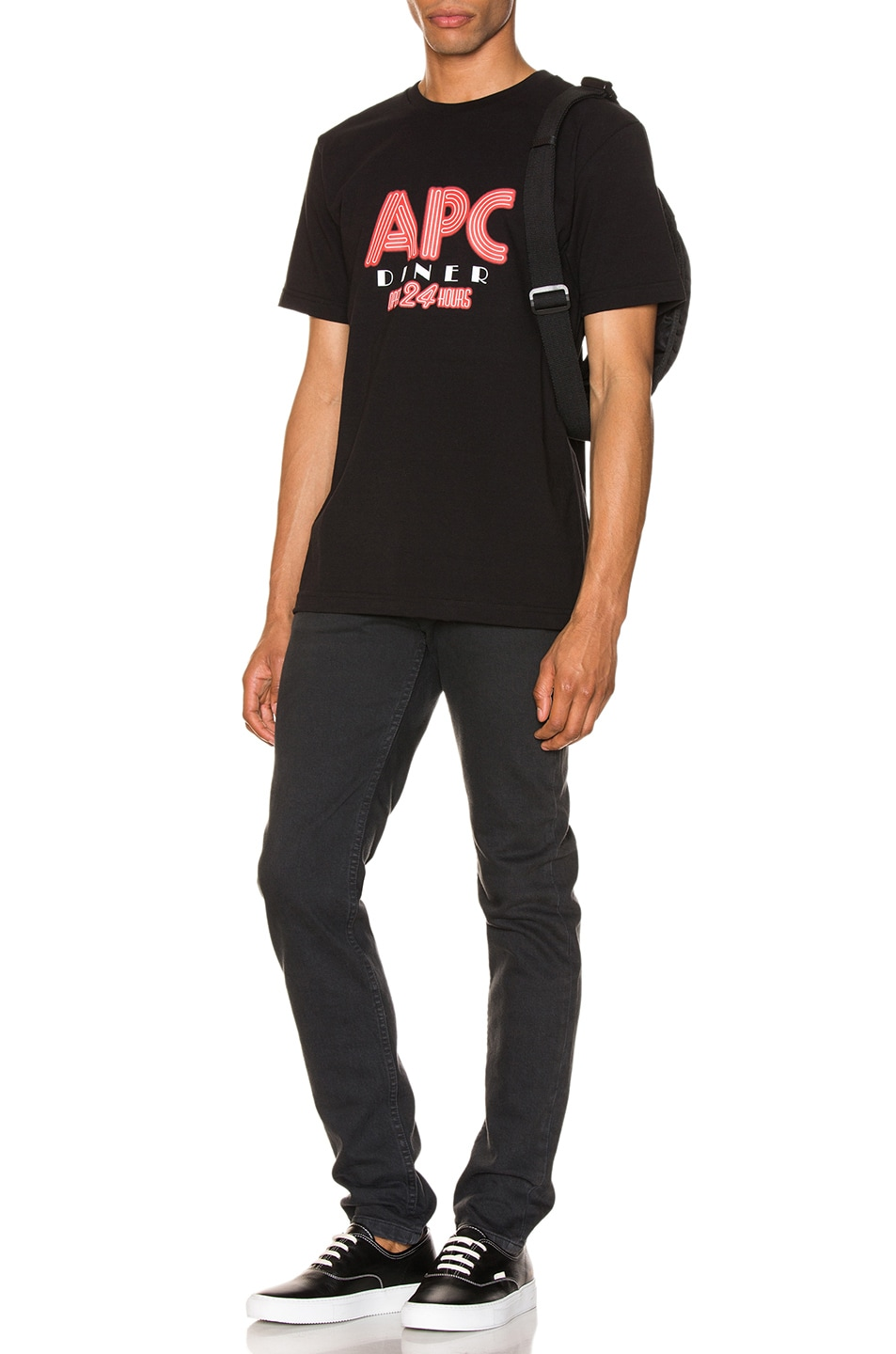 Image 4 of A.P.C. Taylor Tee in Black