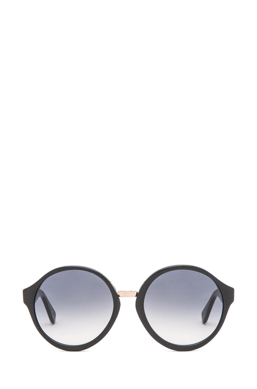 Image 1 of A.P.C. Acetate Retro Super Future Sunglasses in Marine