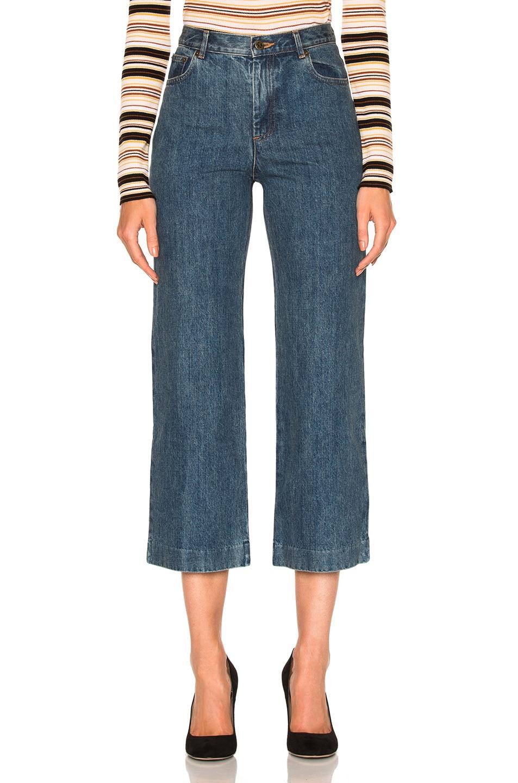 Image 1 of A.P.C. Sailor Jeans in Indigo Delave