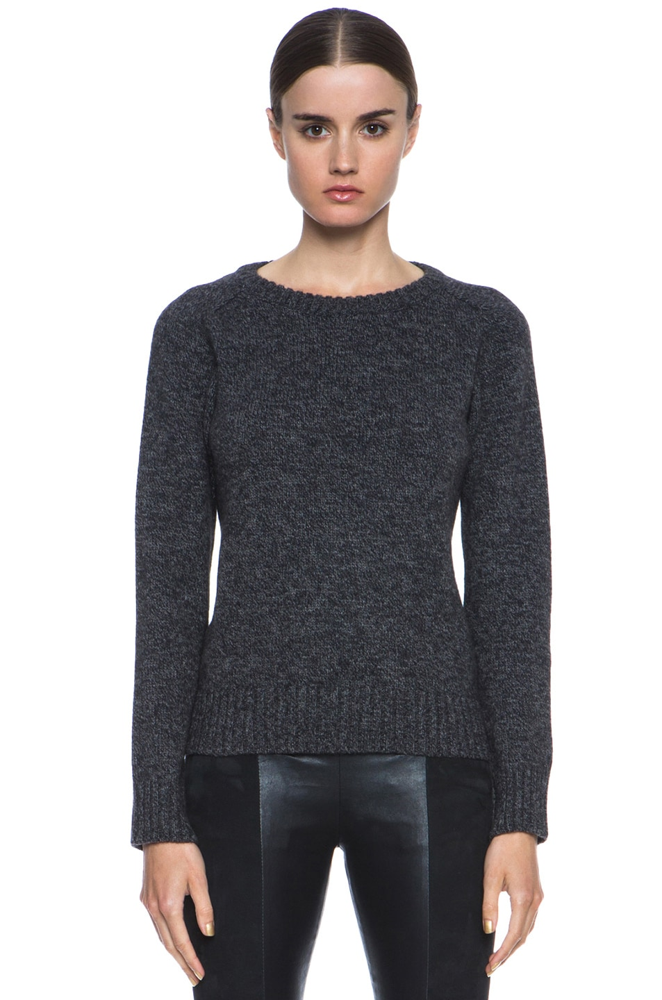 Image 1 of A.P.C. Merino Wool Pullover in Anthracite