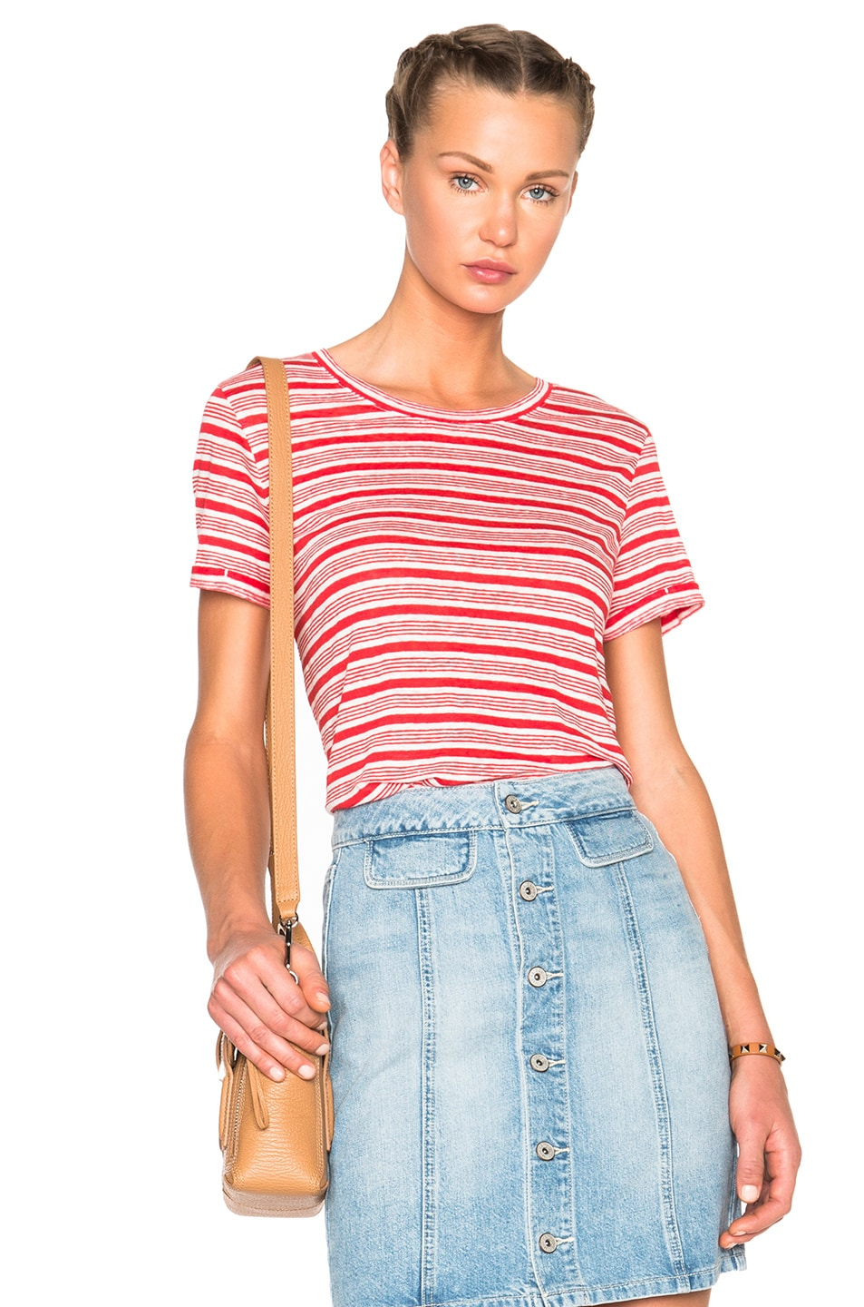 Image 1 of A.P.C. Chic Tee in Red