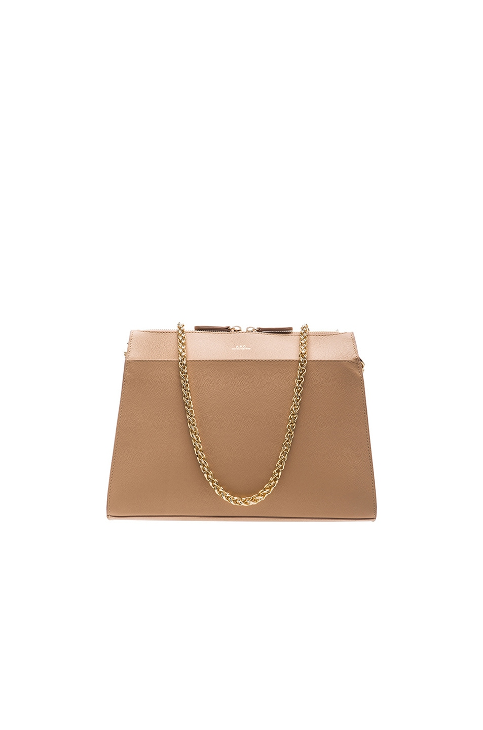 Image 1 of A.P.C. Edith Bag in Beige Rose