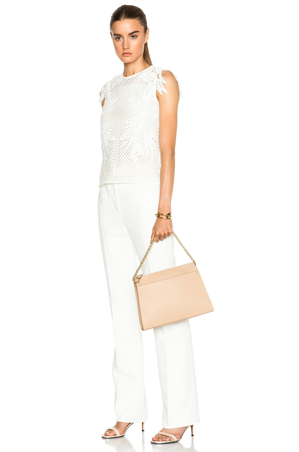 Image 2 of A.P.C. Edith Bag in Beige Rose