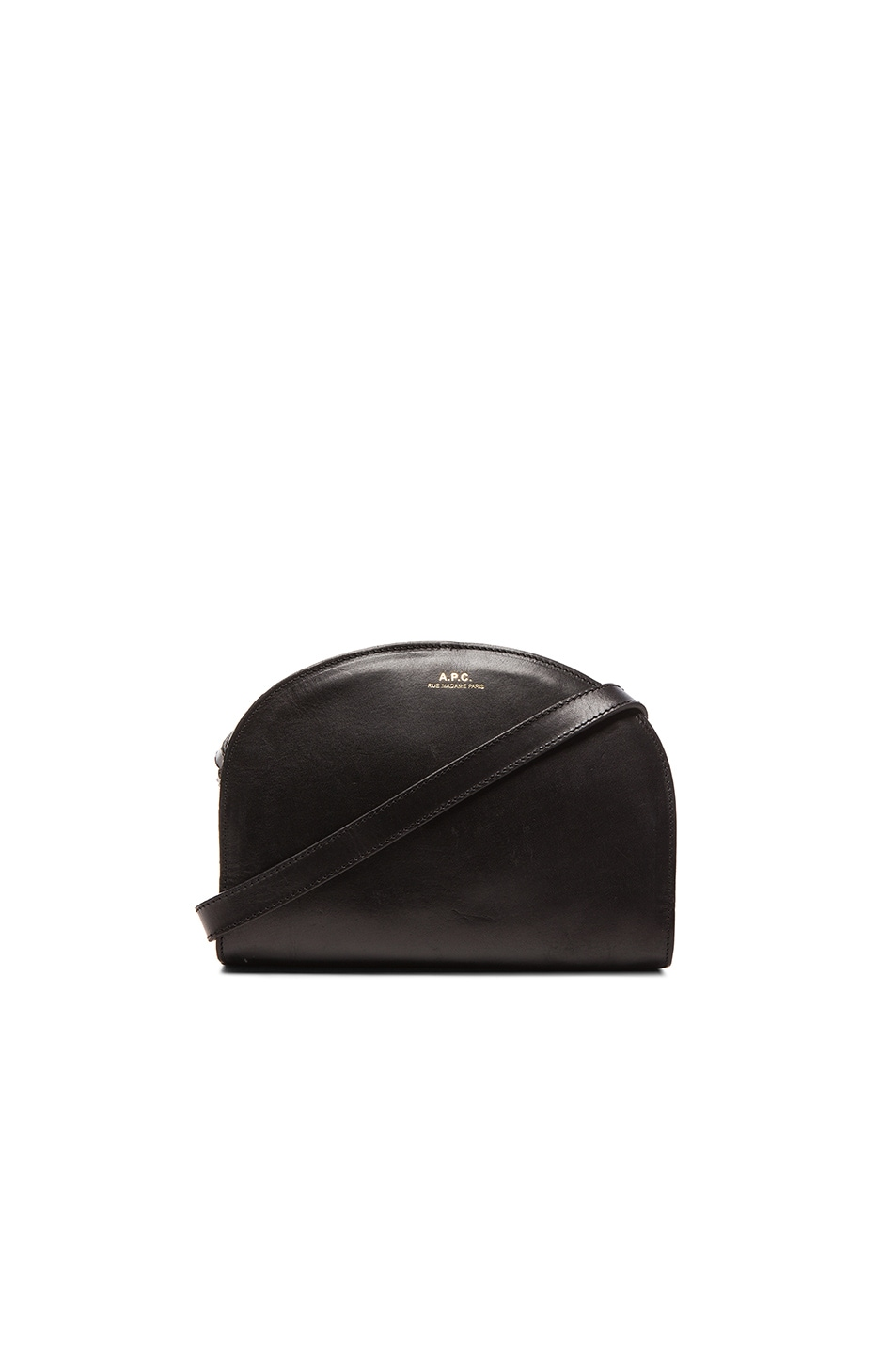 Image 1 of A.P.C. Demi Lune Bag in Black