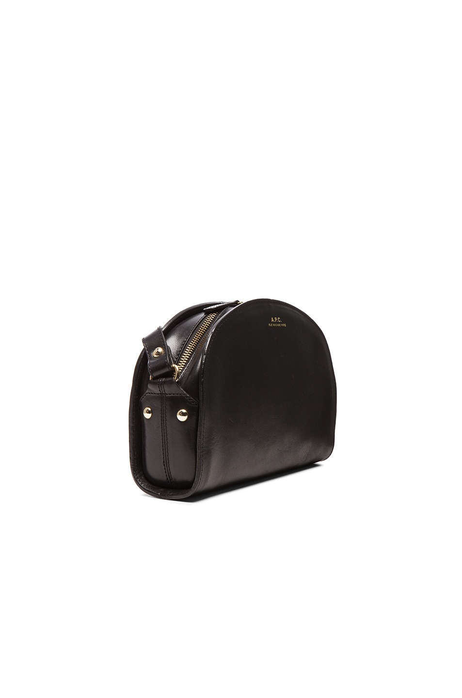 Image 4 of A.P.C. Demi Lune Bag in Black