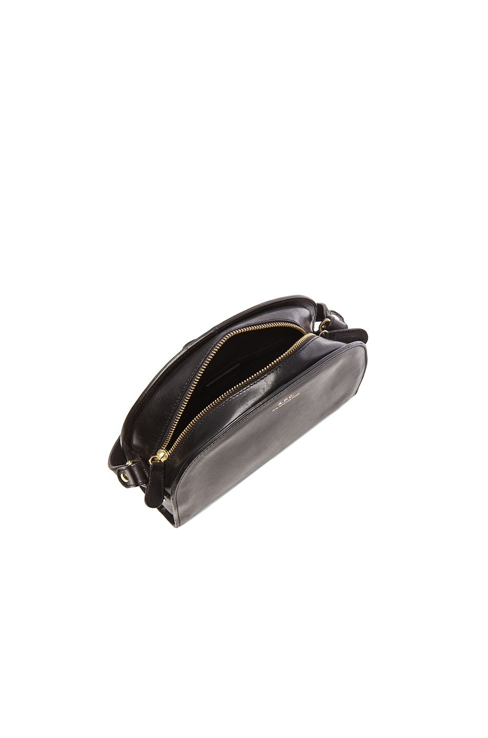 Image 5 of A.P.C. Demi Lune Bag in Black