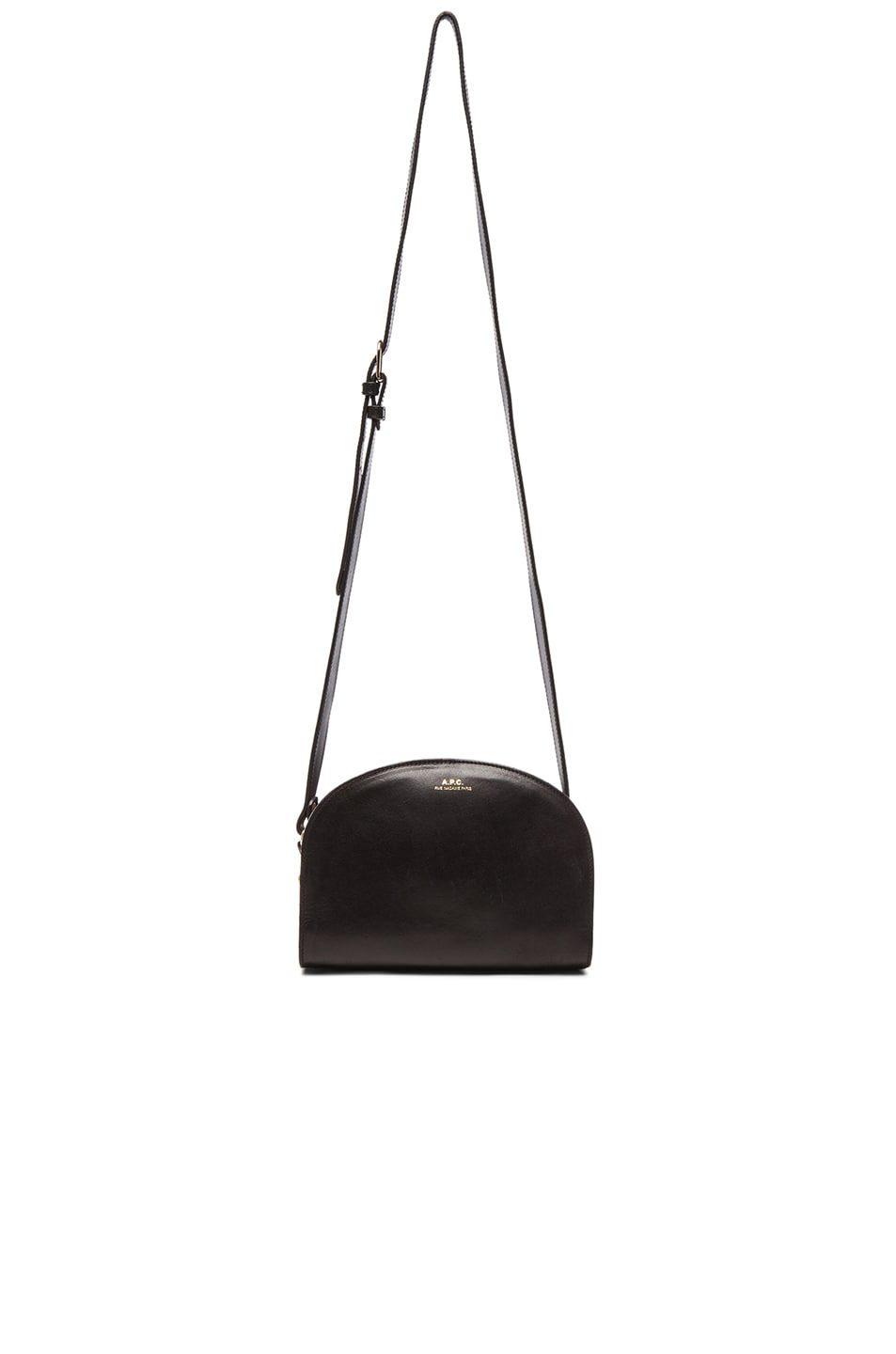 Image 6 of A.P.C. Demi Lune Bag in Black