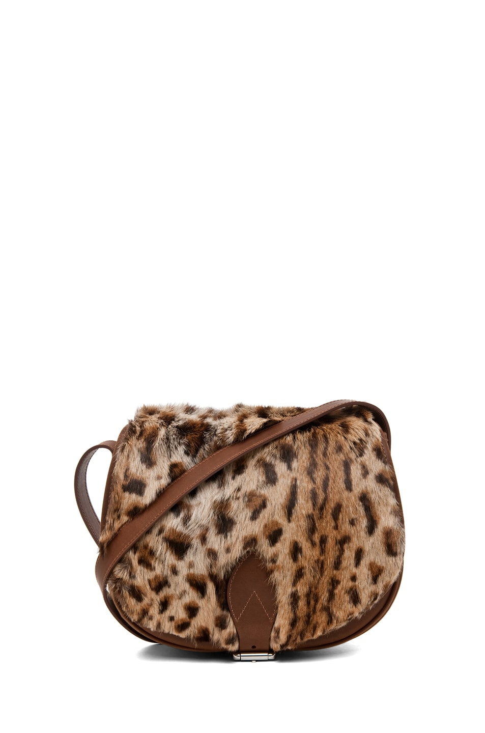 Image 1 of A.P.C. Sac Besace Leopard Bag in Caramel