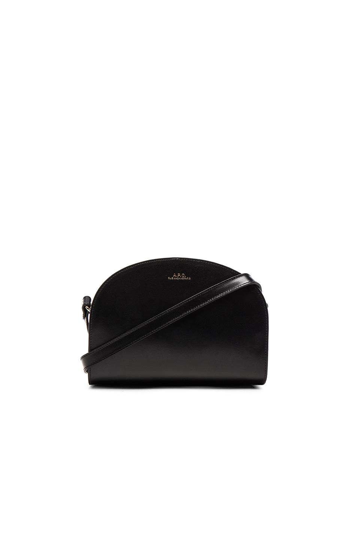 Image 1 of A.P.C. Sac Demi Bag in Black