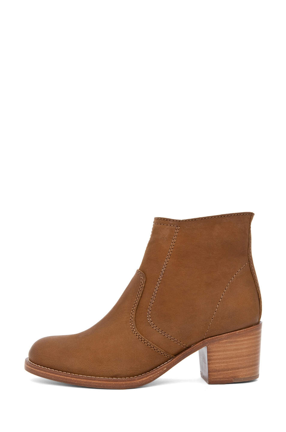 Image 1 of A.P.C. Camarguaise Boot in Caramel
