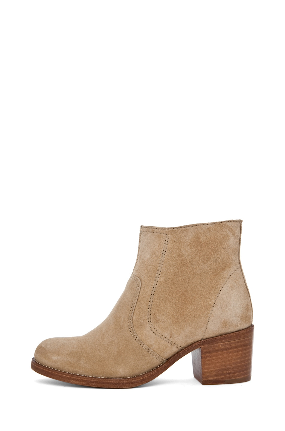 Image 1 of A.P.C. Camarguaise Bootie in Beige