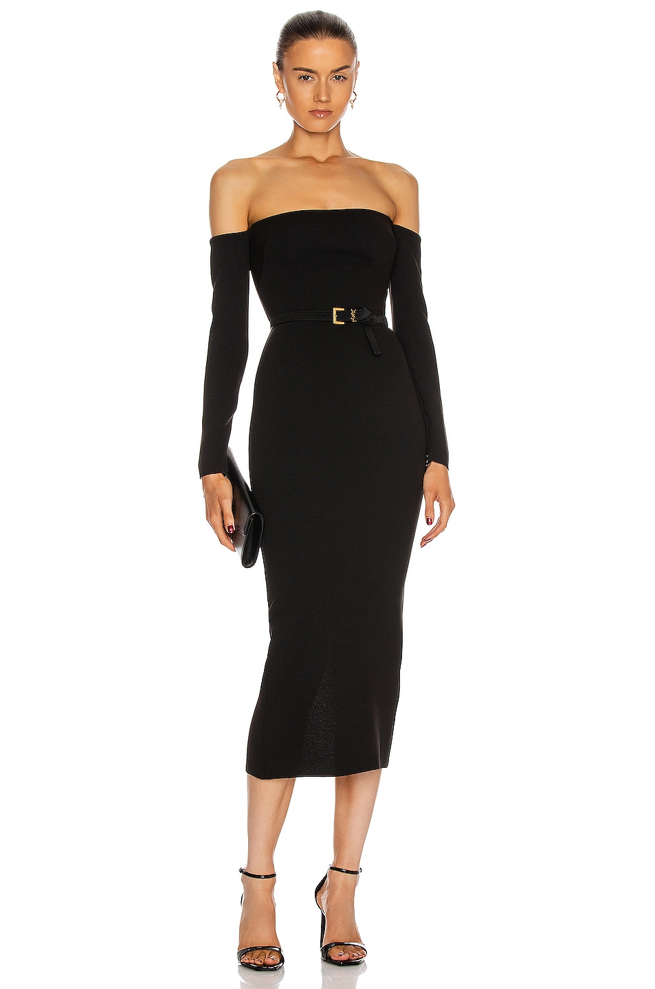 Image 1 of Alex Perry Tate Dress in Black