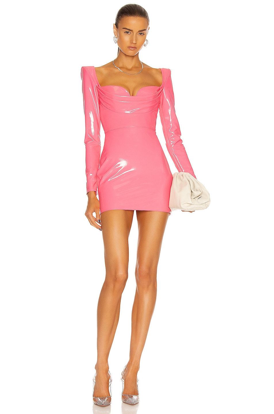 Image 1 of Alex Perry Britt Dress in Pink