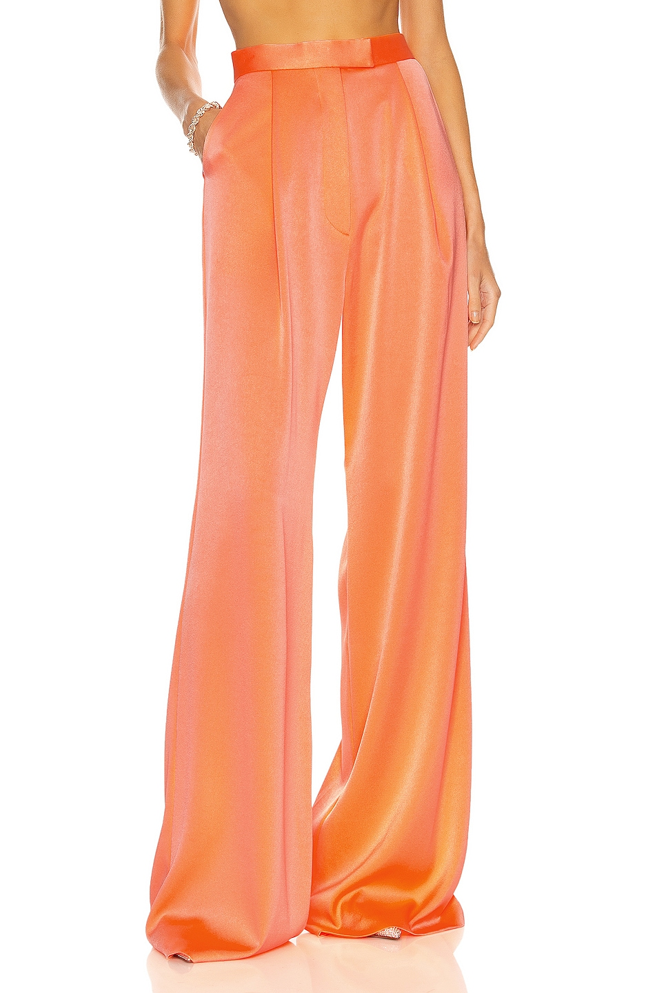 Image 1 of Alex Perry Malone Pant in Coral