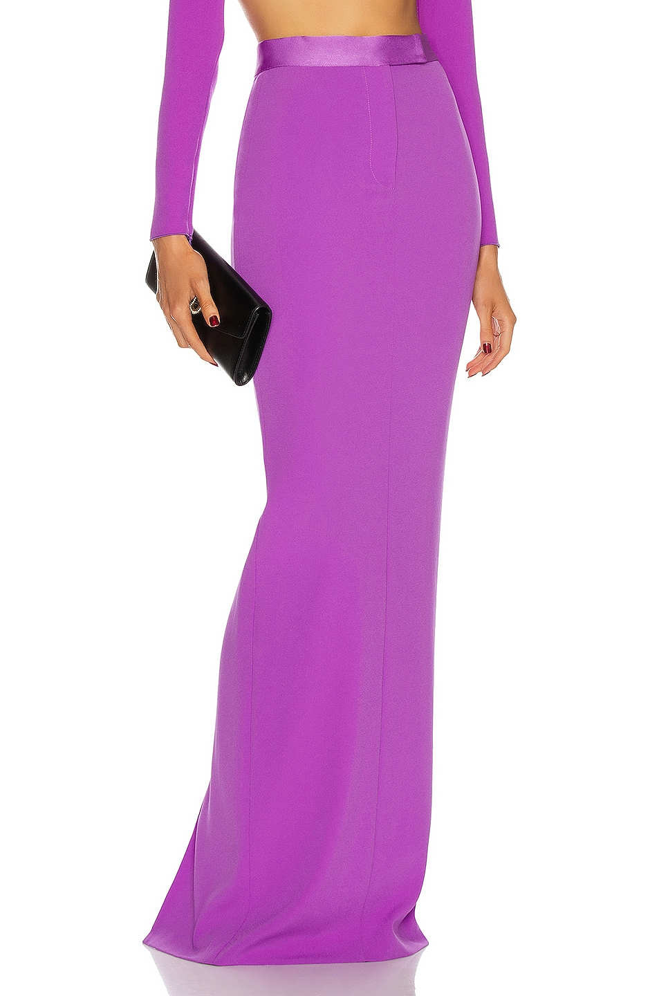Image 1 of Alex Perry Gabriel Skirt in Purple