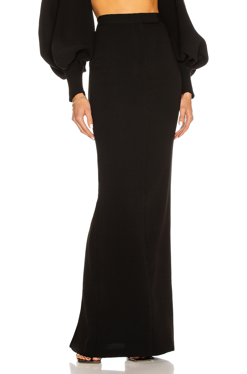 Image 1 of Alex Perry Halen Skirt in Black