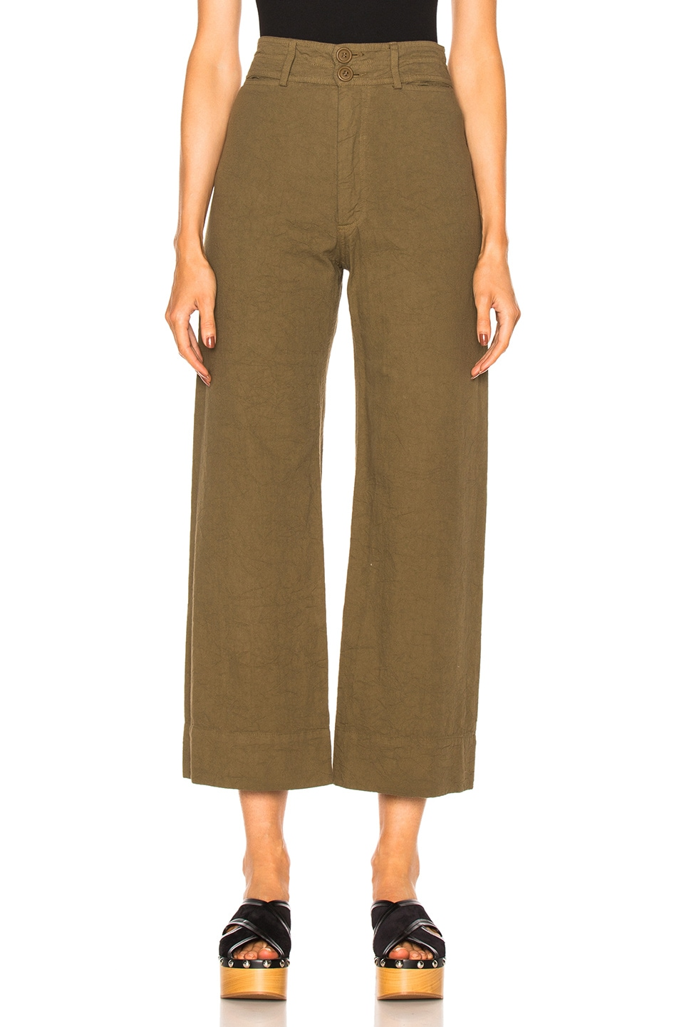 Image 1 of Apiece Apart Wide Leg Pant in Pachumama