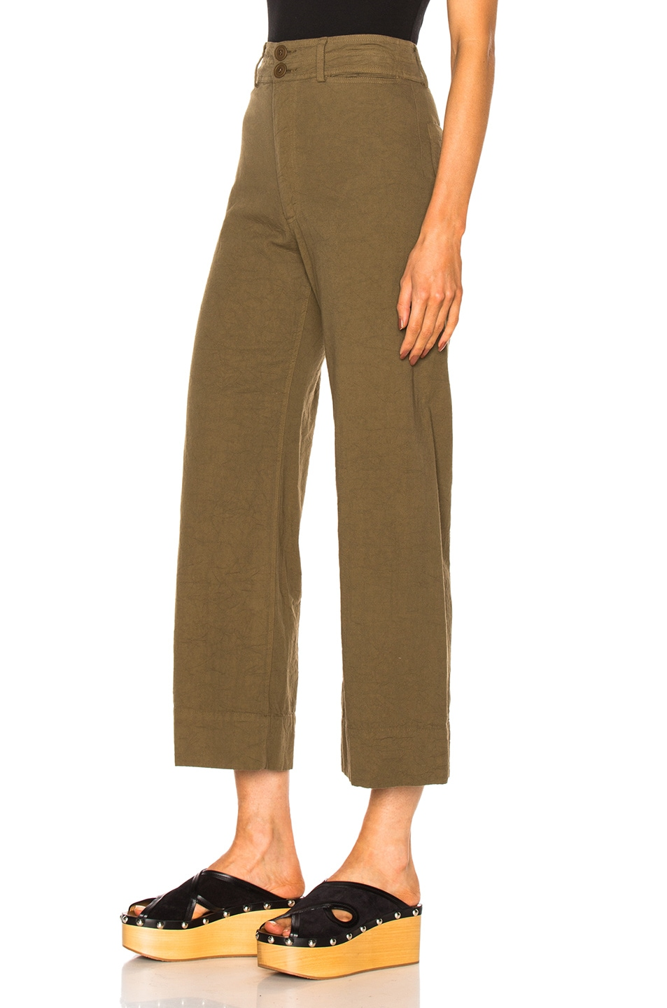Image 2 of Apiece Apart Wide Leg Pant in Pachumama