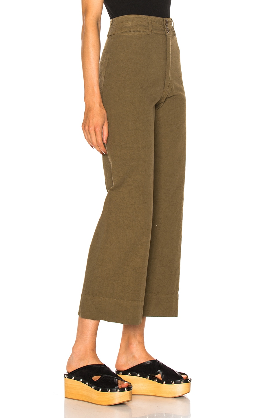 Image 3 of Apiece Apart Wide Leg Pant in Pachumama