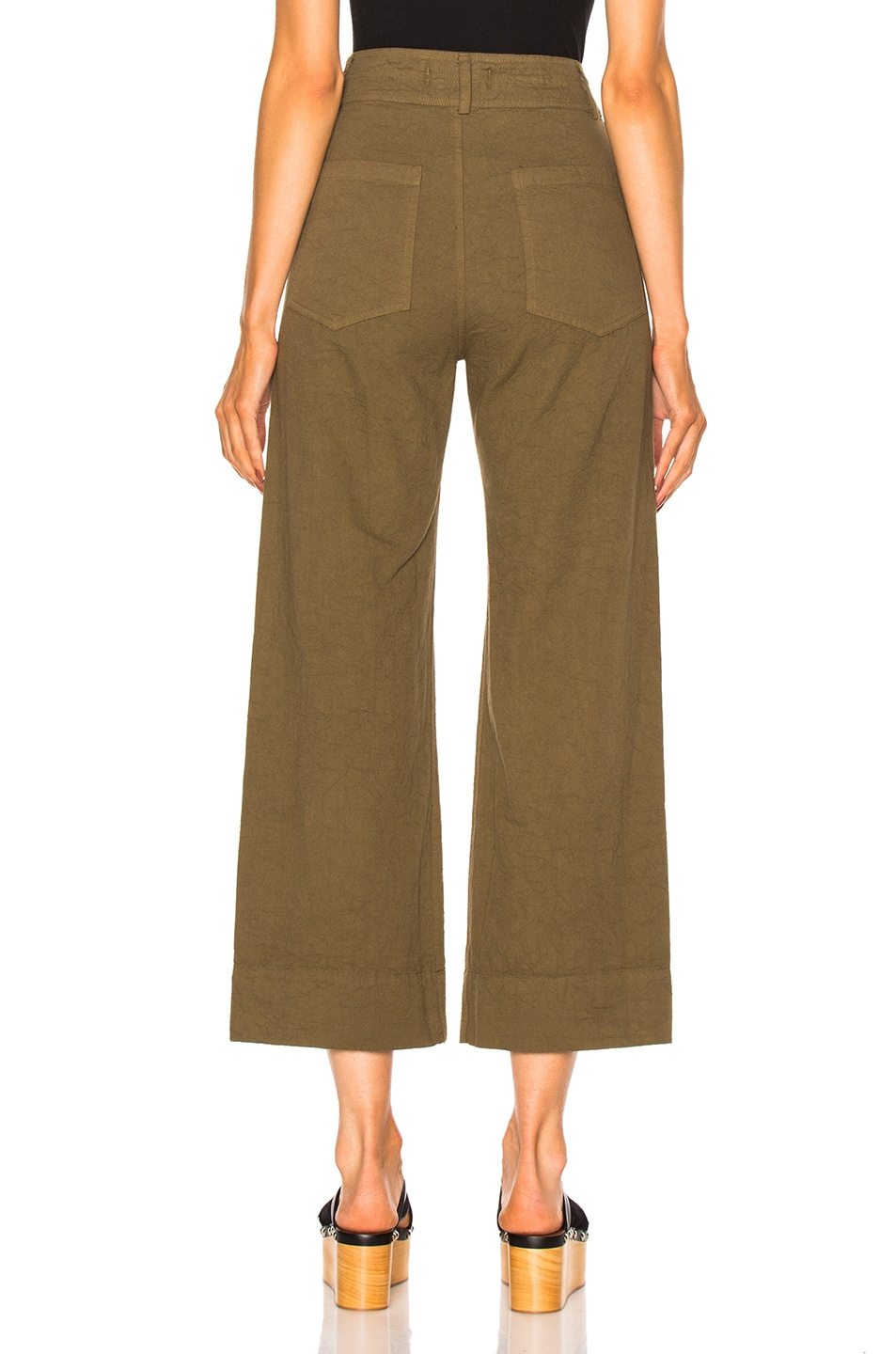 Image 4 of Apiece Apart Wide Leg Pant in Pachumama