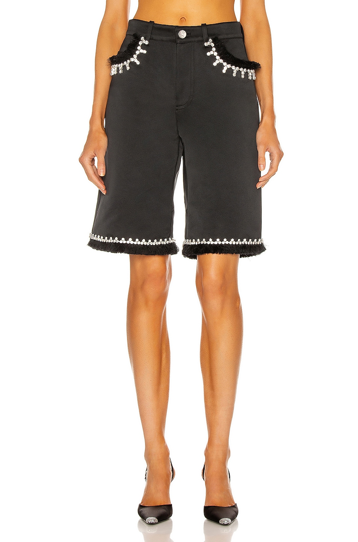 Image 1 of AREA Five Pocket Short in Black