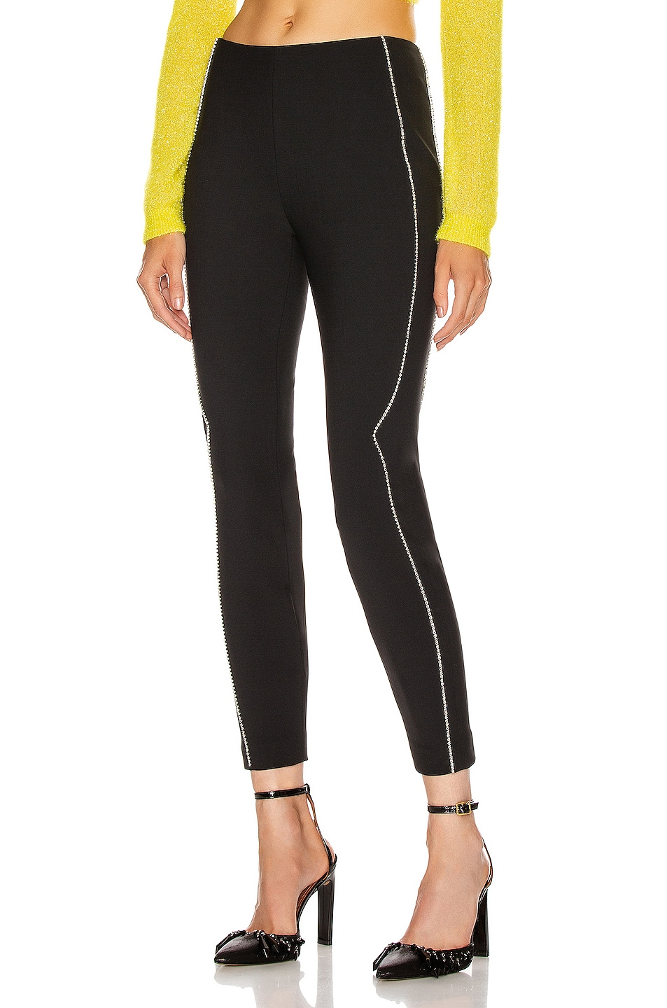 Image 1 of AREA Western Legging in Black