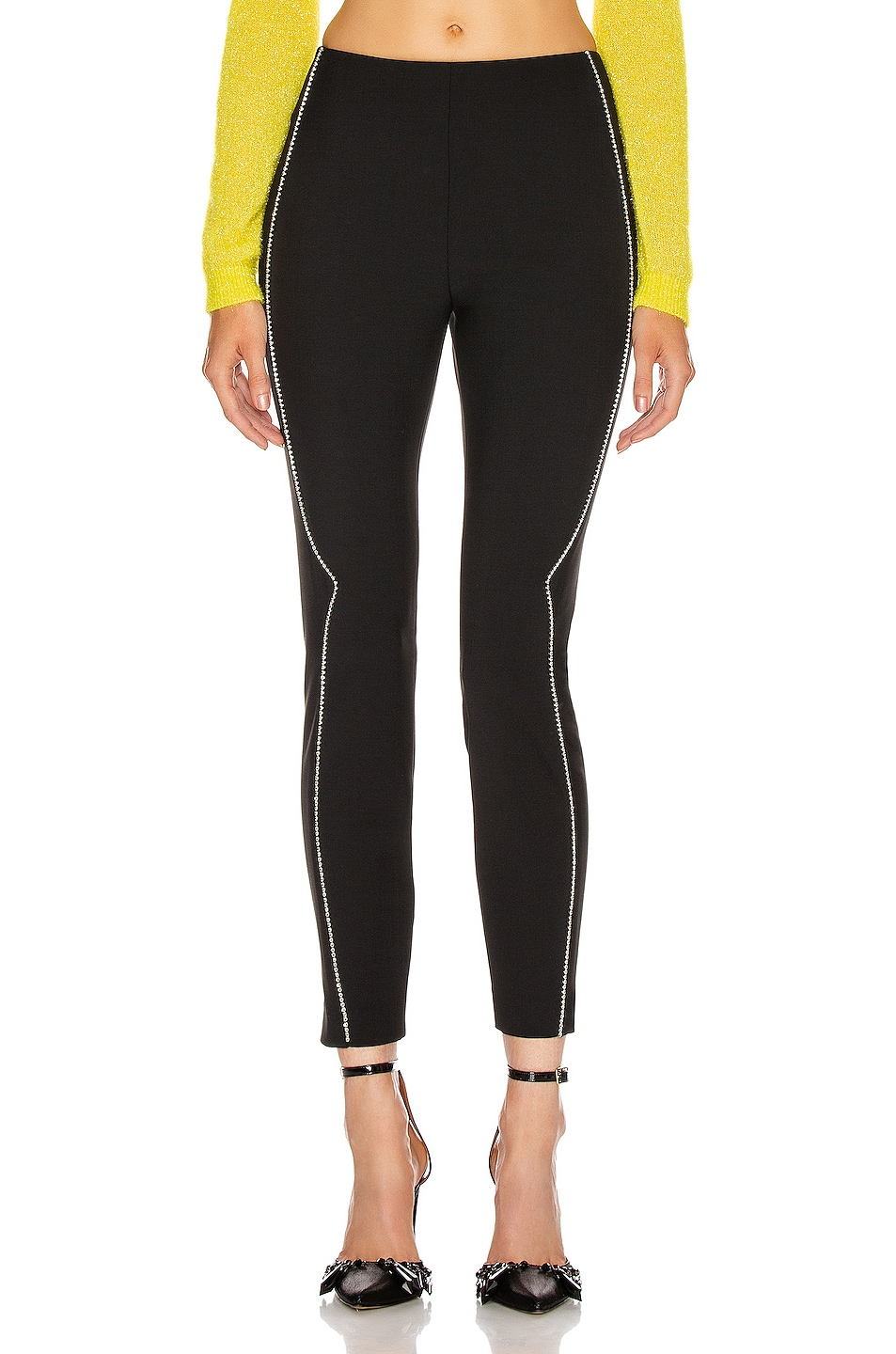 Image 2 of AREA Western Legging in Black