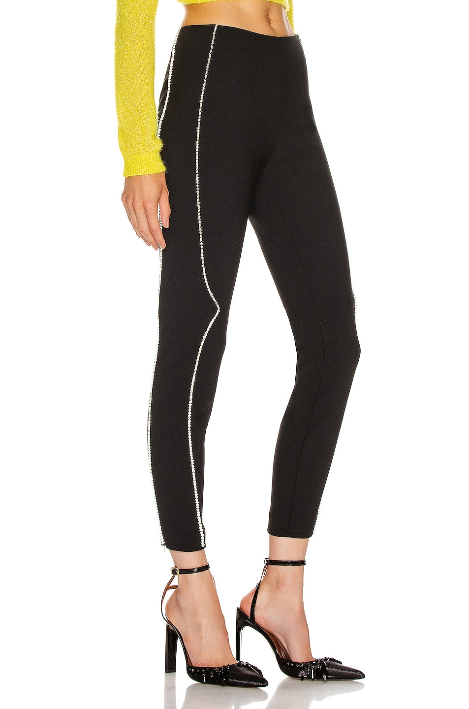 Image 3 of AREA Western Legging in Black