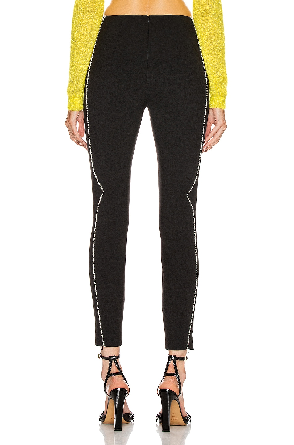 Image 4 of AREA Western Legging in Black