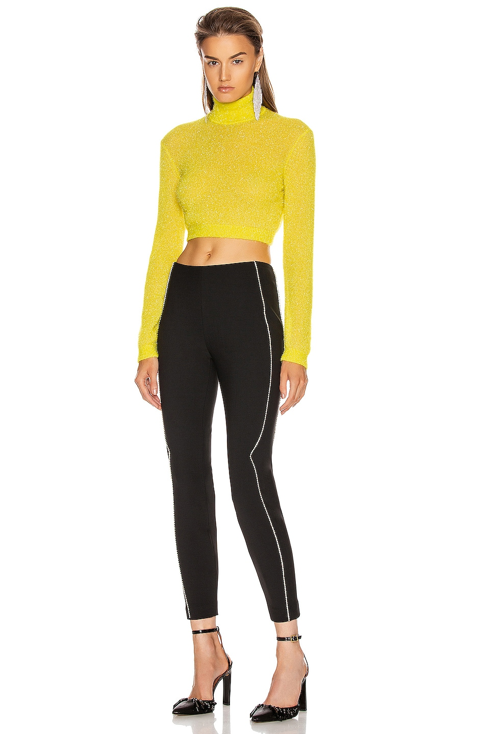 Image 5 of AREA Western Legging in Black