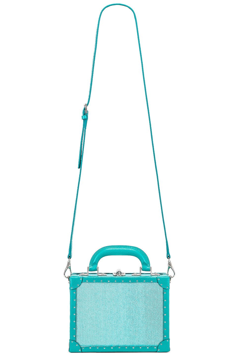 Image 6 of AREA Naomi Bag in Aqua