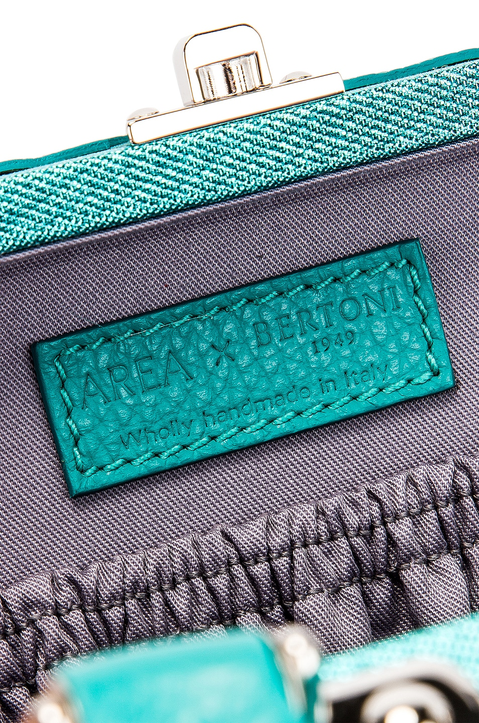Image 7 of AREA Naomi Bag in Aqua