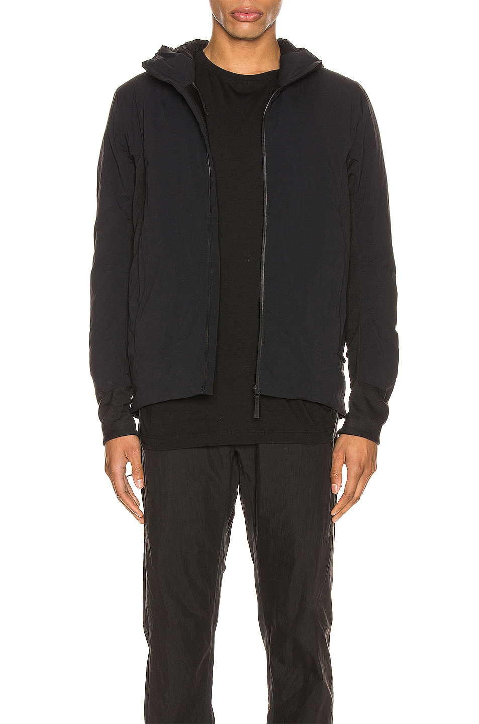 Image 1 of Veilance Mionn IS Comp Hooded Jacket in Black