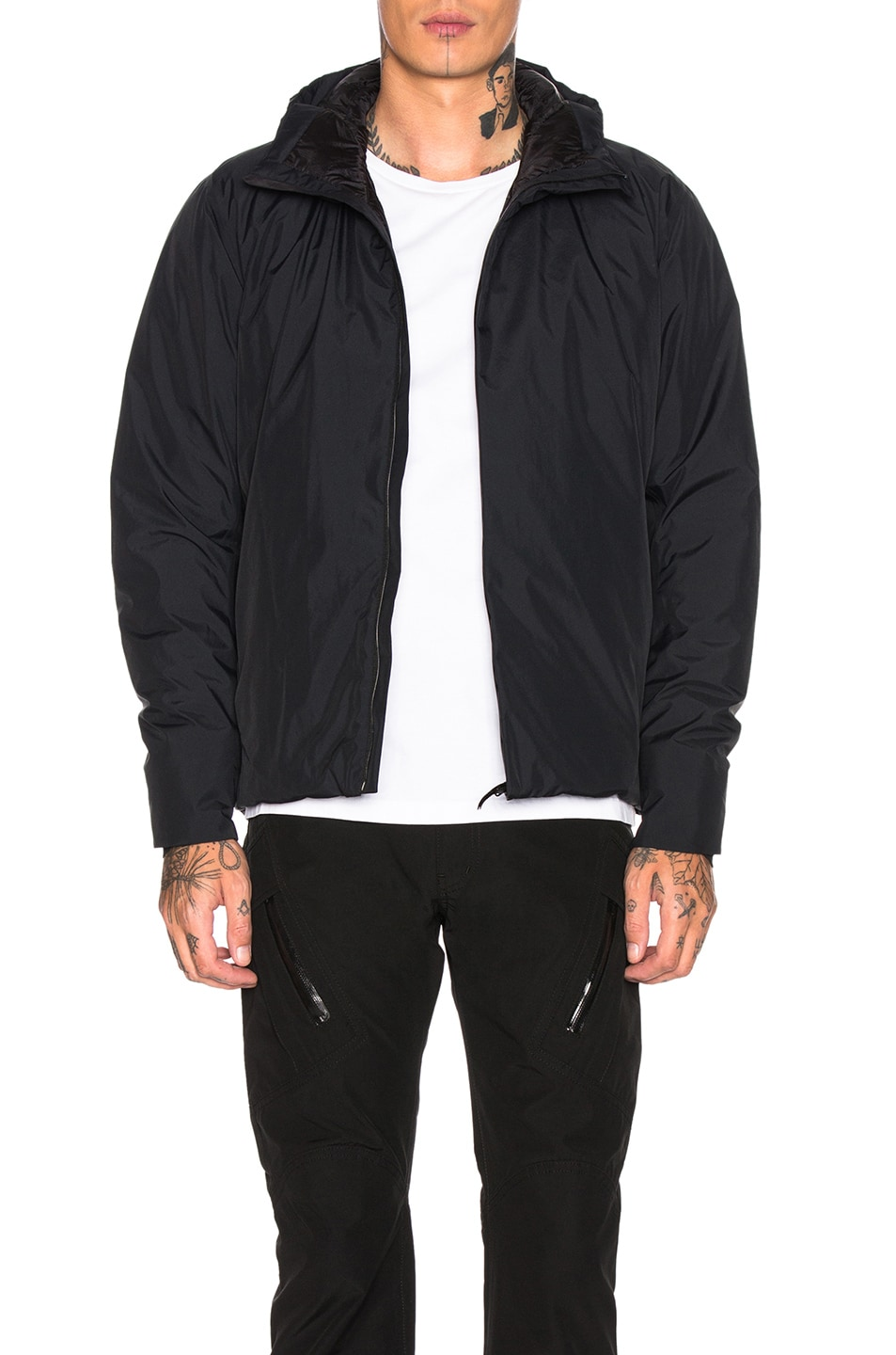 Image 1 of Veilance Anneal Down Jacket in Black
