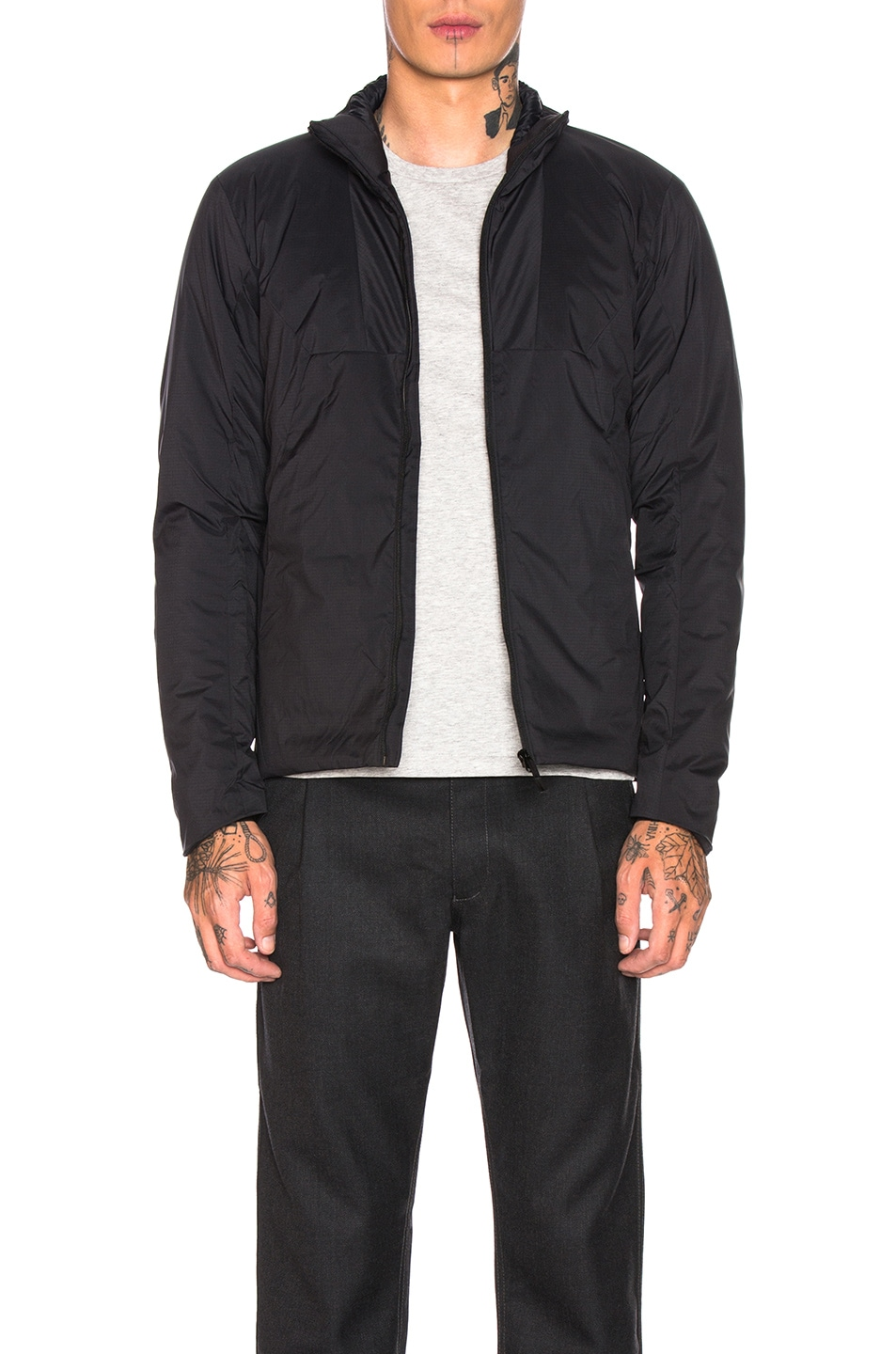 Image 1 of Arc'teryx Veilance Mionn Is Jacket in Black