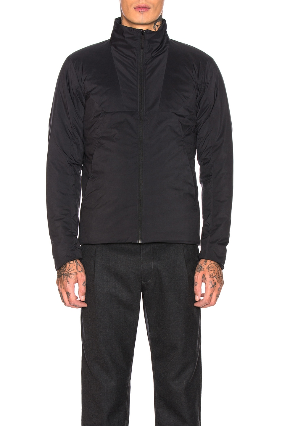 Image 2 of Arc'teryx Veilance Mionn Is Jacket in Black