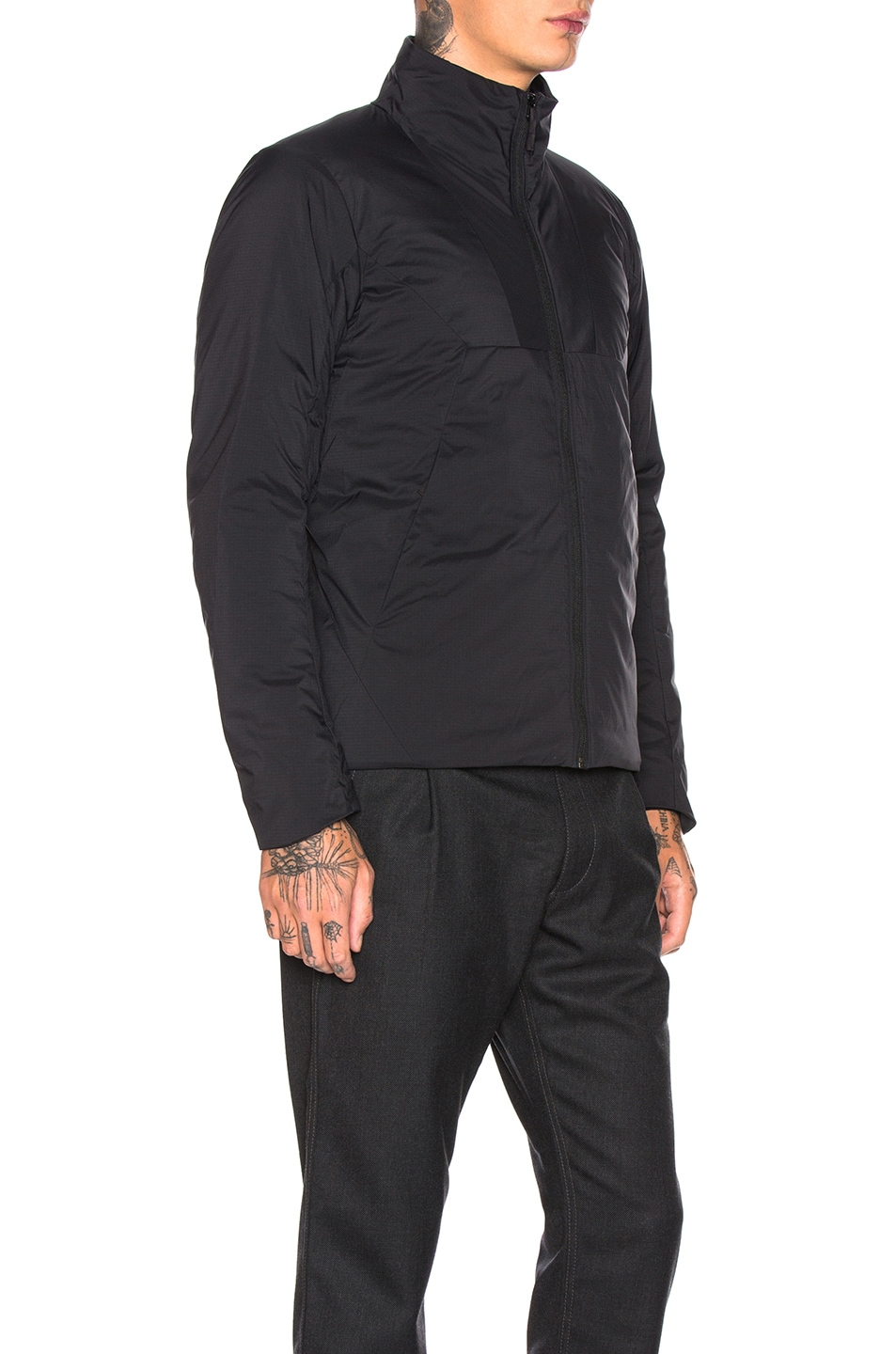 Image 3 of Arc'teryx Veilance Mionn Is Jacket in Black