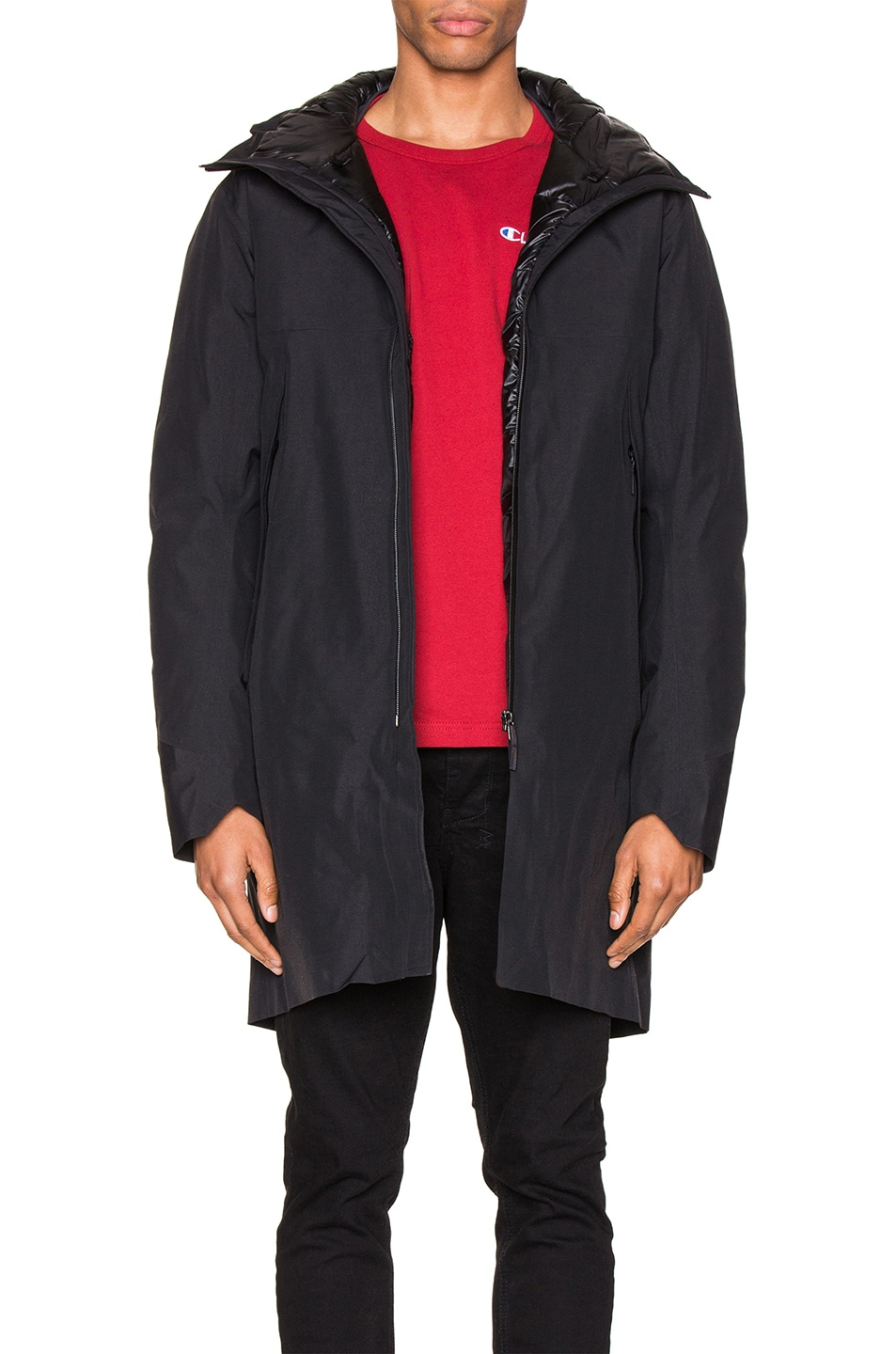 Image 1 of Arc'teryx Veilance Monitor Down Coat in Black