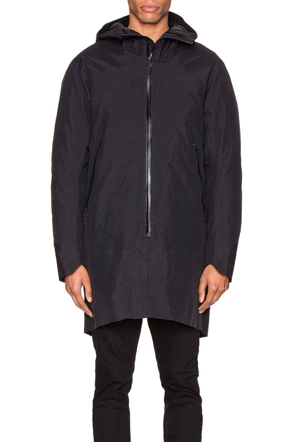 Image 2 of Arc'teryx Veilance Monitor Down Coat in Black