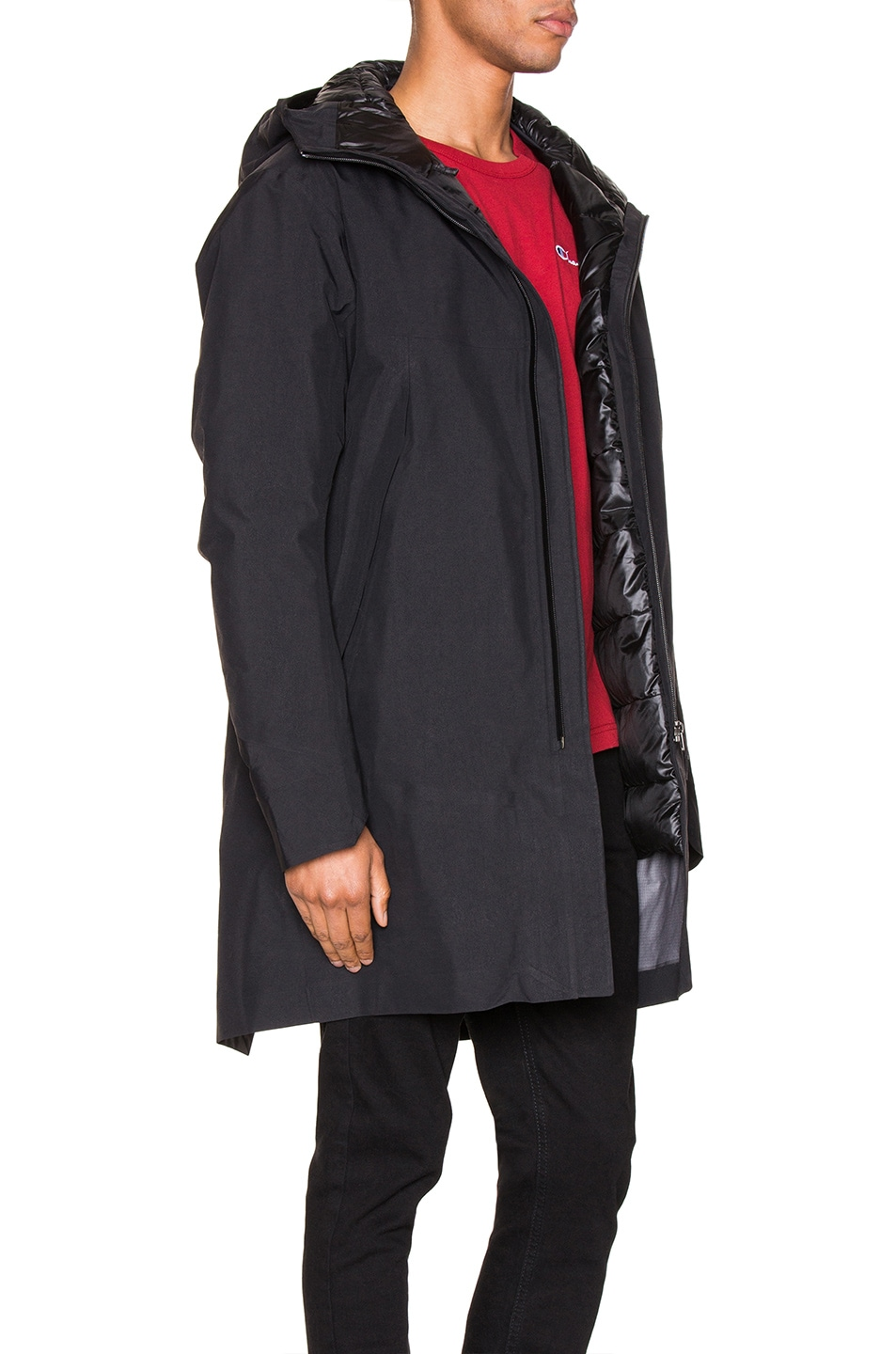 Image 3 of Arc'teryx Veilance Monitor Down Coat in Black