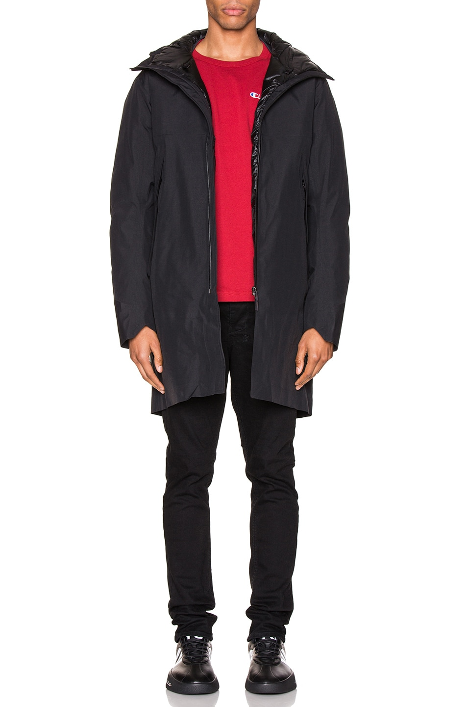 Image 5 of Arc'teryx Veilance Monitor Down Coat in Black