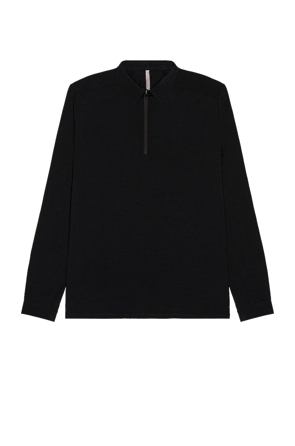 Image 1 of Veilance Frame LS Polo in Black