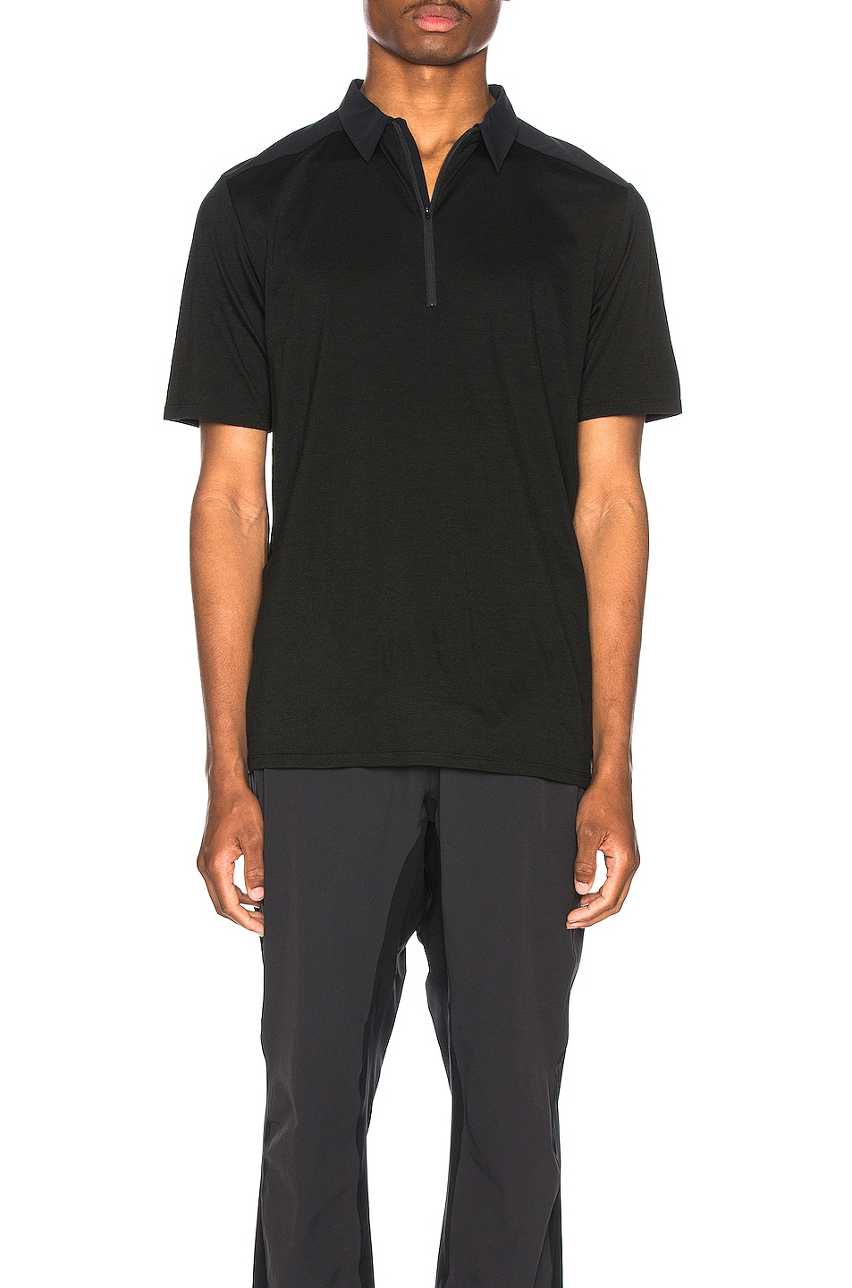 Image 1 of Arc'teryx Veilance Frame Polo in Black