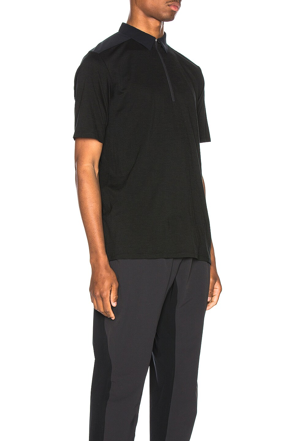 Image 3 of Arc'teryx Veilance Frame Polo in Black