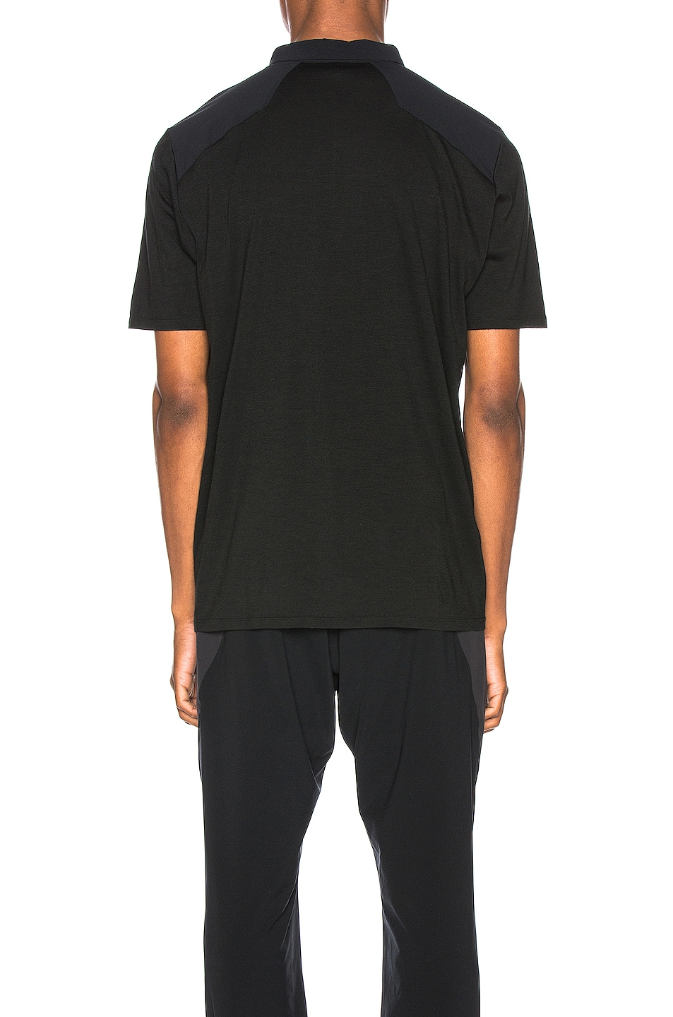 Image 4 of Arc'teryx Veilance Frame Polo in Black