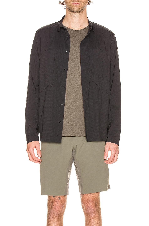 Image 1 of Veilance Demlo Overshirt in Black