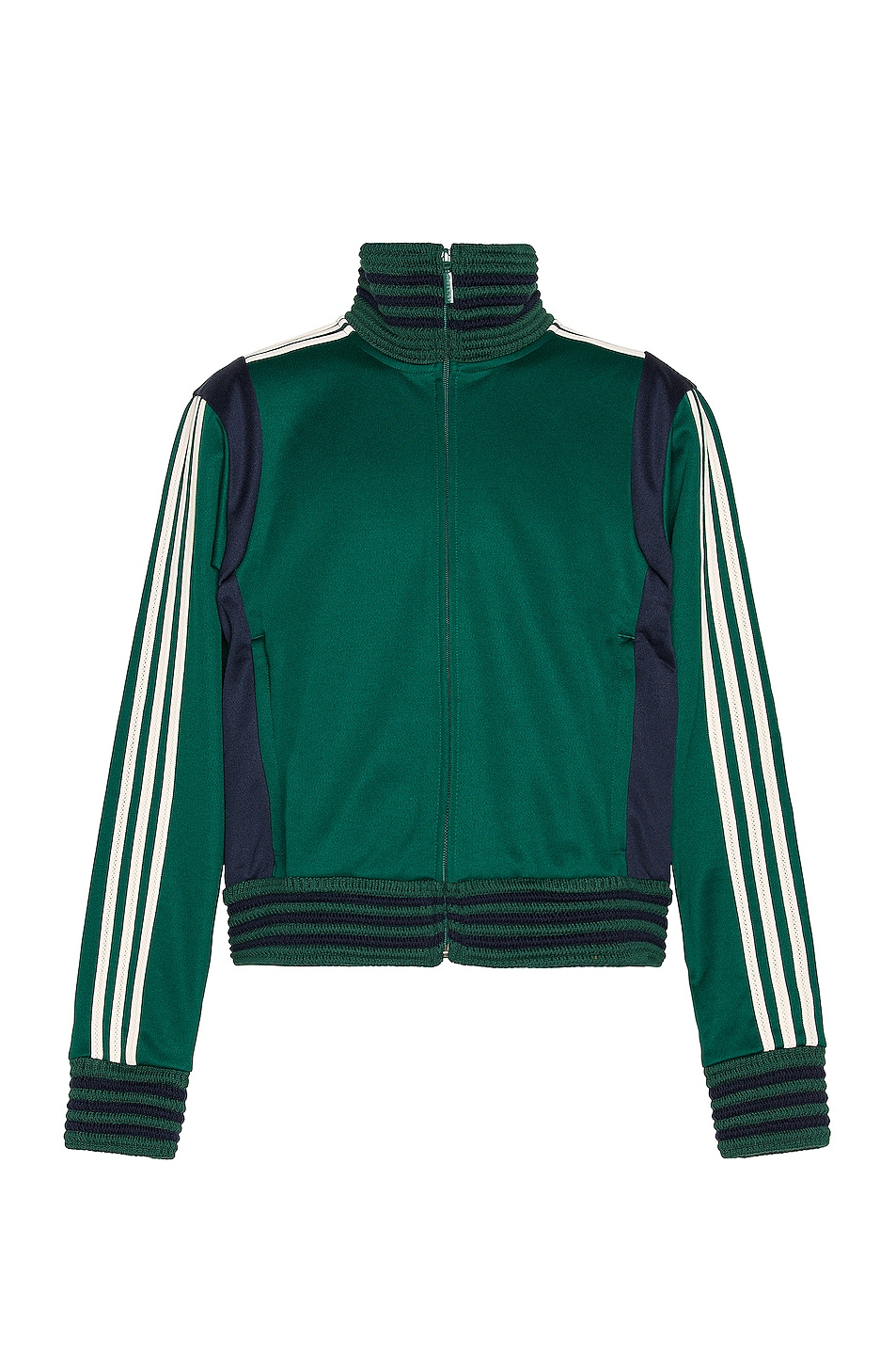 Image 1 of adidas by Wales Bonner Lovers Track Jacket in Collegiate Green
