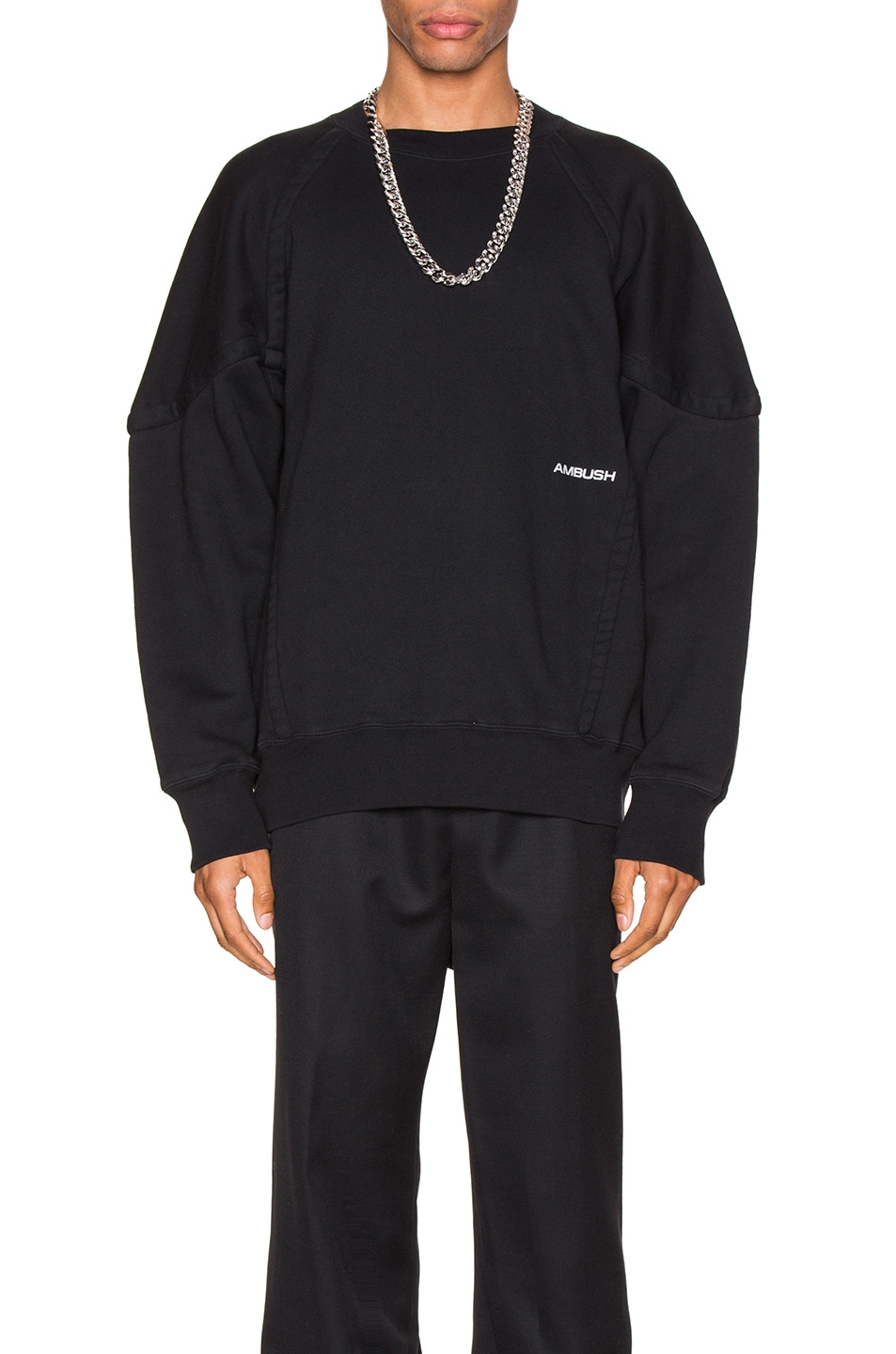 Ambush T-shirts Wide Piping Sweatshirt