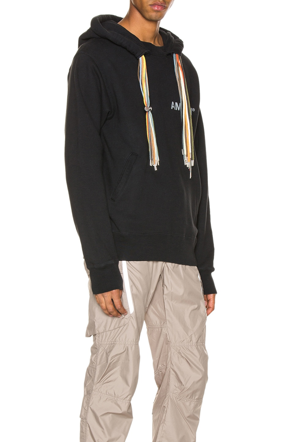 Image 2 of Ambush New Multi Cord Hoodie in Black